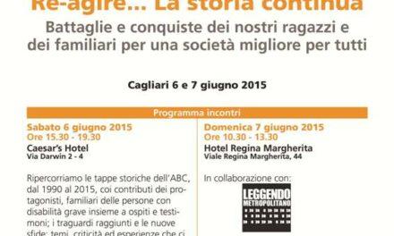 Cagliari – Re- agire … La storia continua * I 25 anni di ABC Sardegna