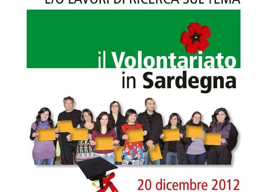 """Cagliari – Premiazione Concorso """"Il Volontariato in Sardegna"""""""