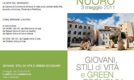 Nuoro – Giovani, stili di vita e green economy