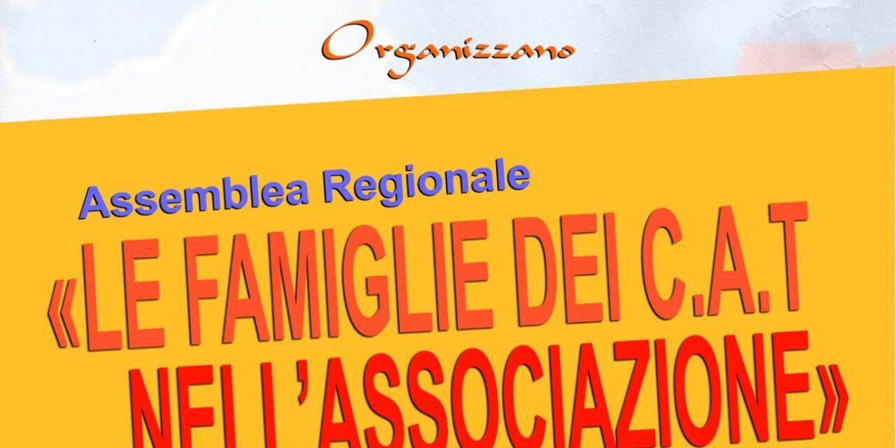 """Terralba – Assemblea Regionale """"Le famiglie dei CAT nell'Associazione"""""""