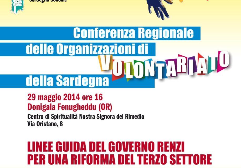 Proposte del Volontariato sardo sulle linee guida di riforma del TS