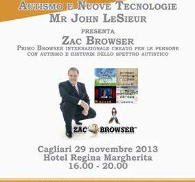 Cagliari – Autismo e Nuove tecnologie – Zac Brower