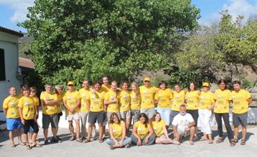"""Cala d'Oliva (Asinara) – Concluso il Campo di volontariato """"Ambiente Libero"""""""