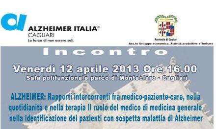 Cagliari – Seminario sull'Alzheimer