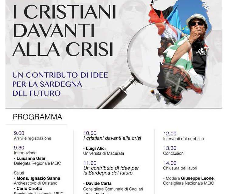 Oristano – I cristiani davanti alla crisi.Un contributo di idee per la Sardegna del futuro