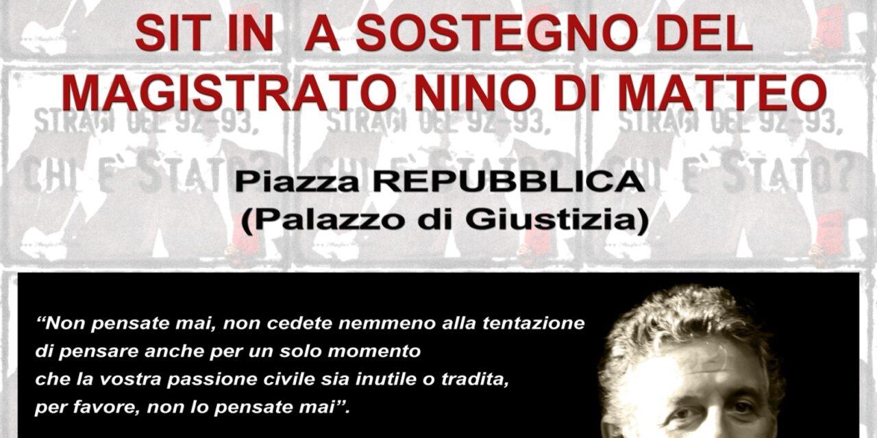 Cagliari – Al fianco di Nino Di Matteo