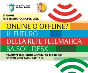 Tramatza – Online o Offline? Il futuro della rete telematica Sa.Sol. Desk