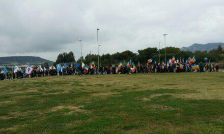 Carbonia – 500 persone alla Marcia della Pace