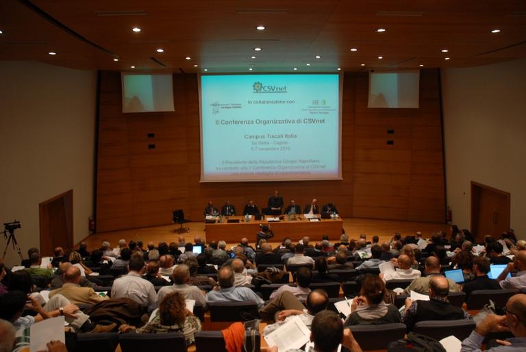 Conclusa la Seconda Conferenza Organizzativa CSVnet – Cagliari, 5-7 novembre 2010
