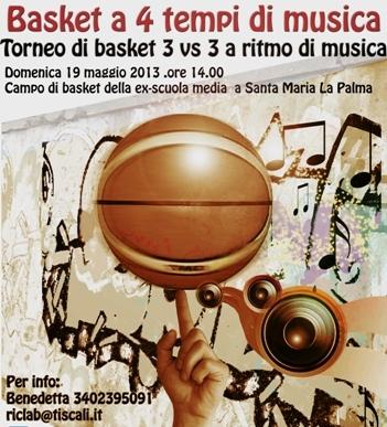 Santa Maria La Palma – Basket a 4 tempi di musica