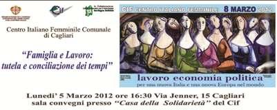 Cagliari – Famiglia e Lavoro: tutela e conciliazione dei tempi