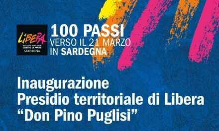 """Ozieri – Inaugurazione Presidio territoriale di Libera """"Don Pino Puglisi"""""""