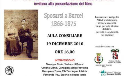 Burcei – Sposarsi a Burcei, 1866-1875