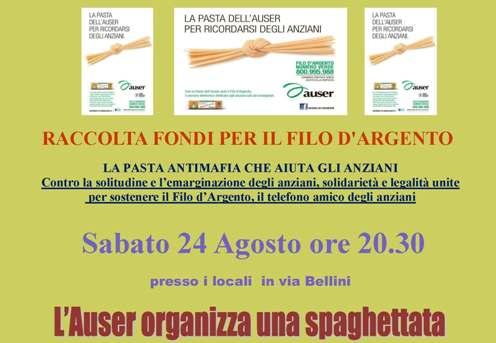 San Giovanni Suergiu – La pasta antimafia che aiuta gli anziani