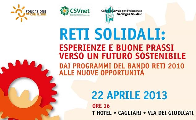 Reti Solidali: esperienze e buone prassi verso un futuro sostenibile.
