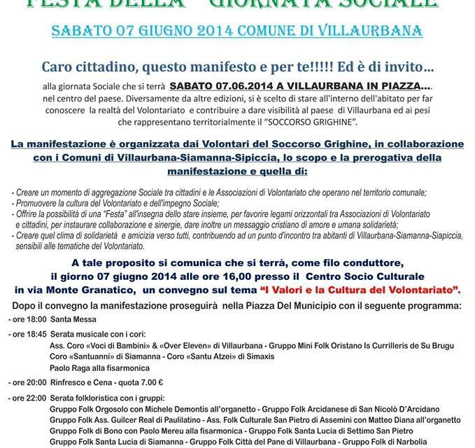 Villaurbana – Festa sociale Volontari del Soccorso Grighine