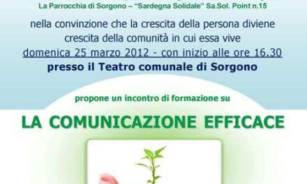 Sorgono – La comunicazione efficace