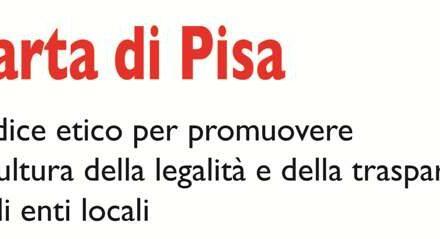 La Carta di Pisa, codice etico di Avviso Pubblico