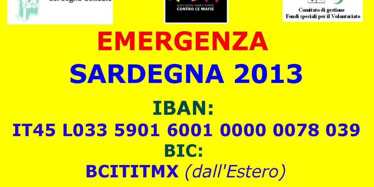 Emergenza Sardegna 2013 – Il videomessaggio