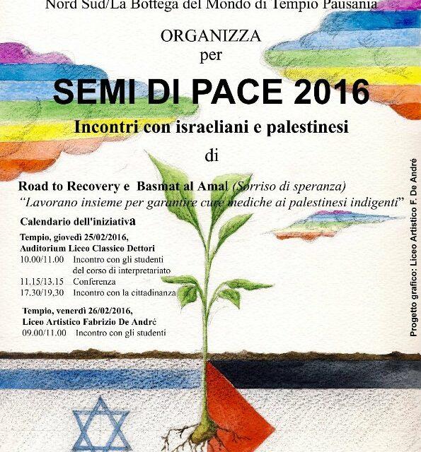 Tempio Pausania – Semi di Pace 2016