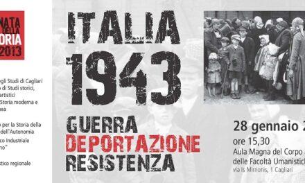 Cagliari – Italia 1943. Guerra, deportazione, resistenza