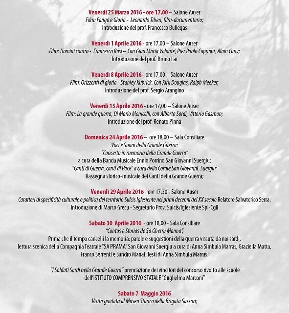 San Giovanni Suergiu – Per non dimenticare