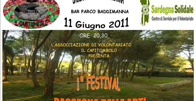 """Sassari – Primo Festival """"Il Capitombolo"""""""