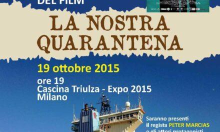 """Milano – Expo 2015: presentazione docufilm """"La nostra quarantena"""""""
