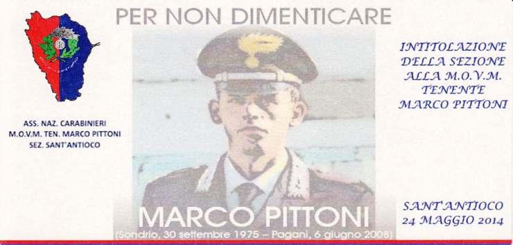 Sant'Antioco – Per non dimenticare Marco Pittoni