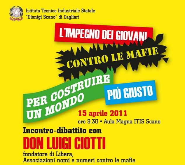Don Luigi Ciotti a Cagliari