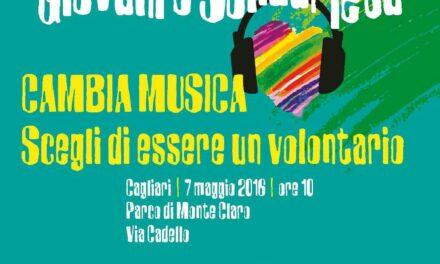 Cagliari – Scuola&Volontariato. Cambia Musica! Scegli di essere un Volontario!