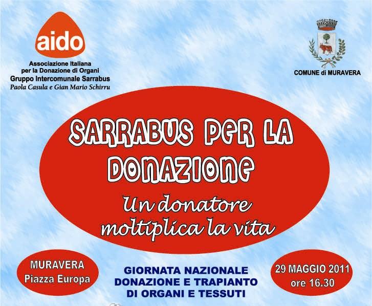 Muravera – Sarrabus per la donazione