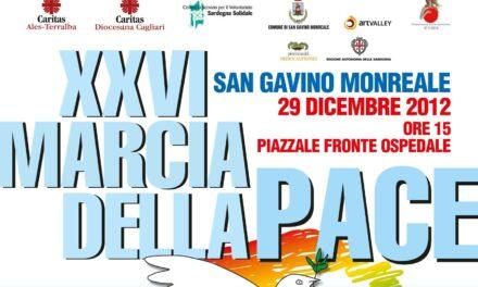 San Gavino Monreale – Marcia della Pace, 29 dicembre 2012
