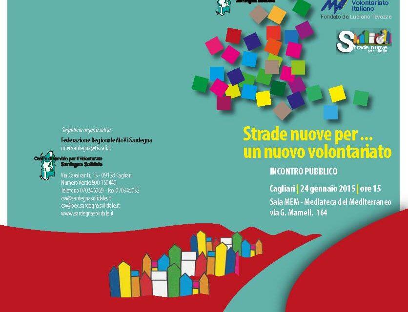 Cagliari – Strade nuove per… un nuovo volontariato