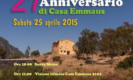 Iglesias – Casa Emmaus compie 27 anni