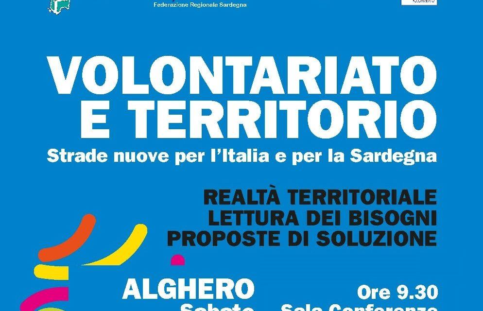 Alghero – Volontariato e Territorio. Strade Nuove per l'Italia e per la Sardegna