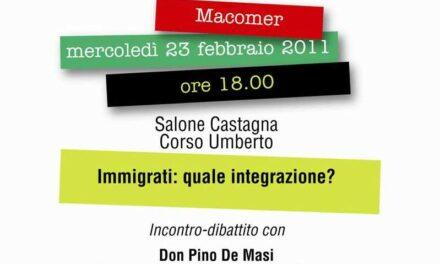 Macomer – Incontro con Don Pino De Masi