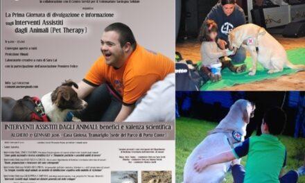 Alghero/Tramariglio –  Prima Giornata di divulgazione e informazione dedicata alla Pet Therapy