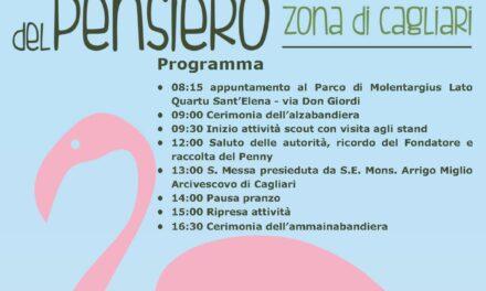 Cagliari – Giornata del Pensiero – Scout Agesci in festa