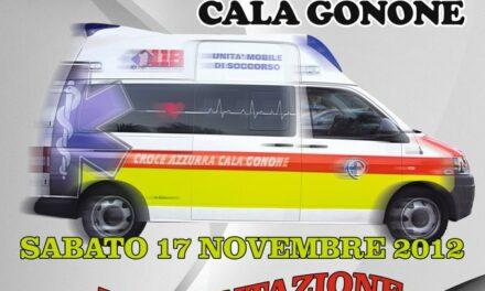 Cala Gonone – Inaugurazione nuova ambulanza Croce Azzurra