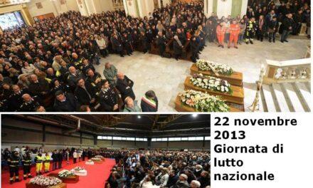 Sardegna, il giorno del dolore. Oggi lutto nazionale
