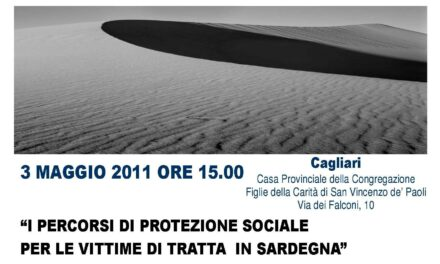 Cagliari – I percorsi di protezione sociale per le vittime di tratta in Sardegna