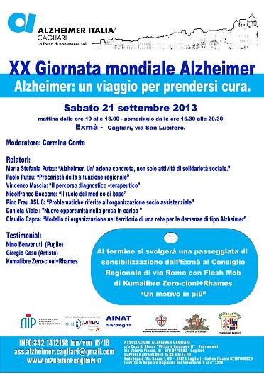 Cagliari – Alzheimer: un viaggio per prendersi cura