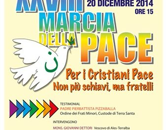 Oristano – XXVIII Marcia della Pace – Per i Cristiani Pace!