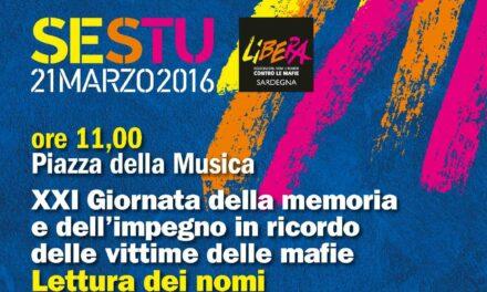 """Messina/Sestu, 21 marzo 2016 e iniziative """"verso il 21 marzo"""""""