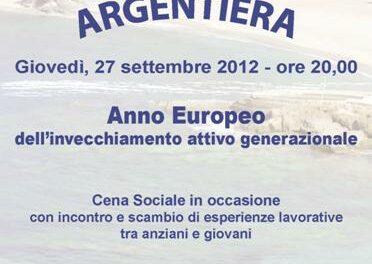 Argentiera – Cena Sociale Alfa Uno