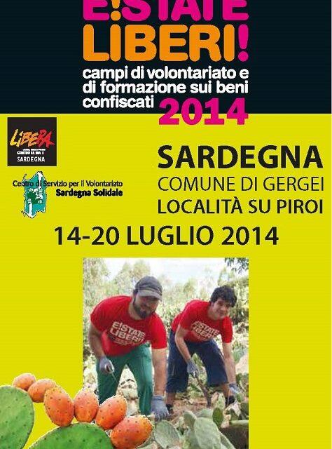"""Gergei Su Piroi – Campo di formazione e volontariato """"E!state Liberi!"""""""