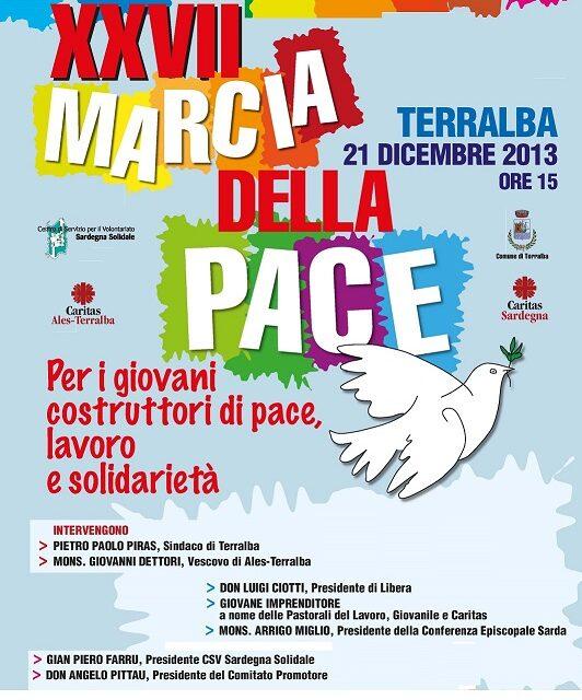 Cagliari: Conferenza Stampa XXVII Marcia della Pace
