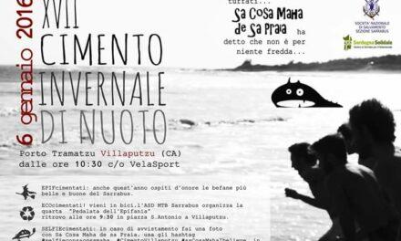 Villaputzu – Cimento invernale di nuoto