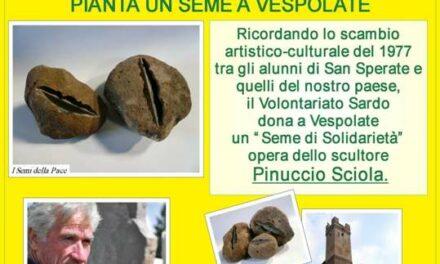 Vespolate (No) – Pianta un seme. Scegli di essere un volontario